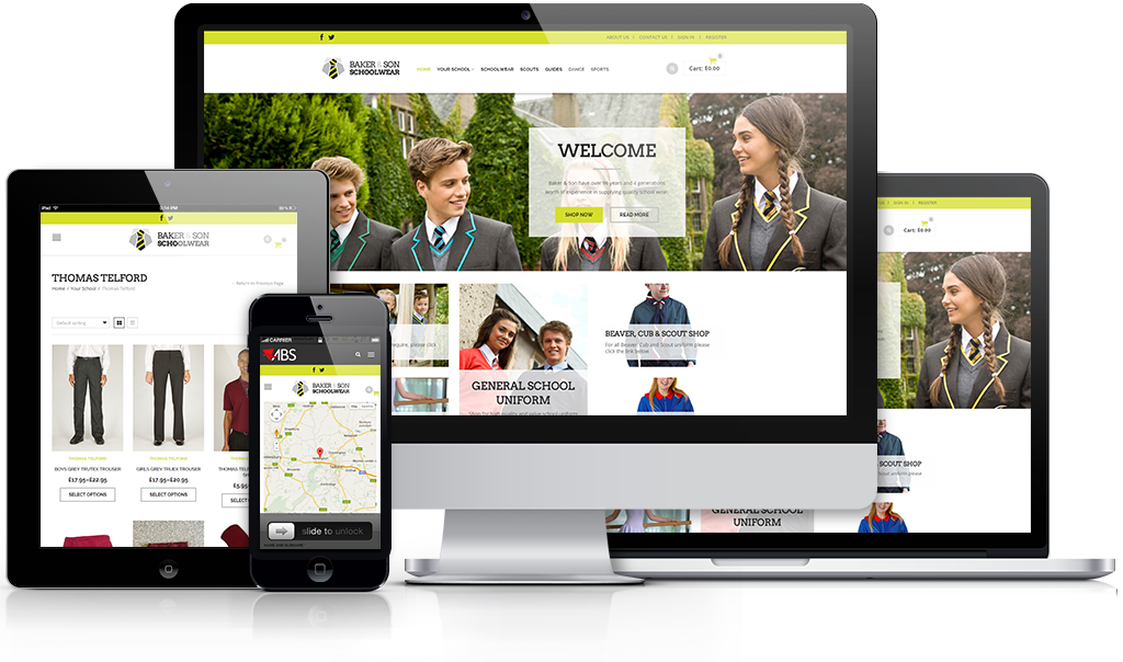 Baker & Son Schoolwear | Schoolwear Shropshire